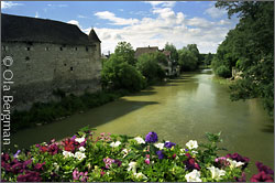 The Serein in Chablis, Burgundy.