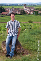 David Rebourgeon, Domaine Rebourgeon-Mure, Pommard.