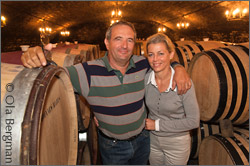 Philippe and Christine Drouhin, Domaine Drouhin-Laroze.