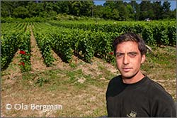 Thomas Bouley at Domaine Jean-Marc Bouley in Volnay.