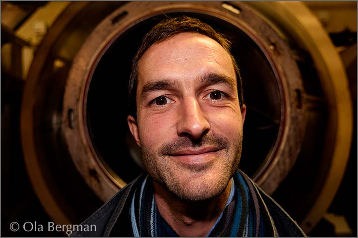 Laurent Mouton at Domaine Mouton in Givry.