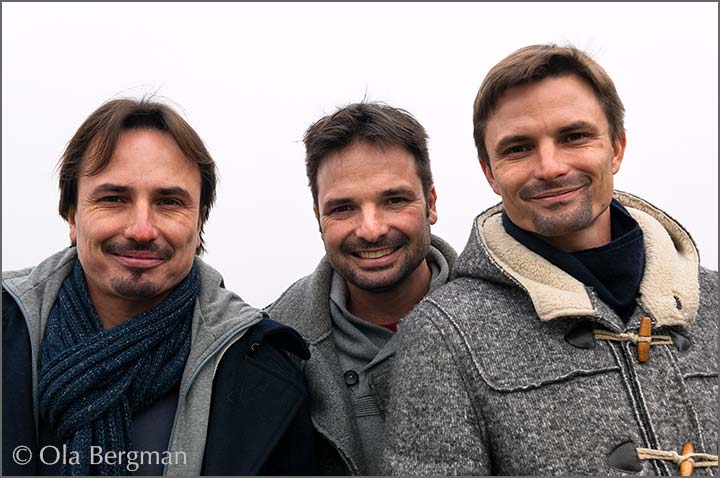 The Bret Brothers – Jean-Philippe Bret, Jean-Guillaume Bret and Marc-Antoine Bret.