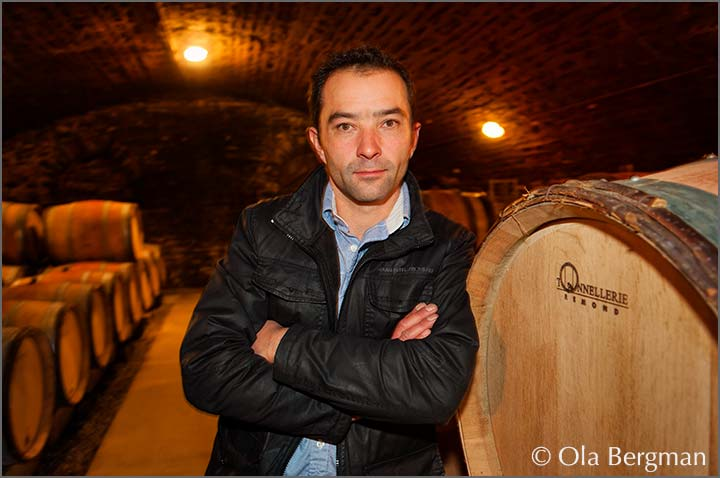 Guillaume Camus at Domaine Camus-Bruchon in Savigny-lès-Beaune.
