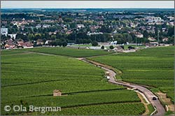 Beaune in Burgundy.