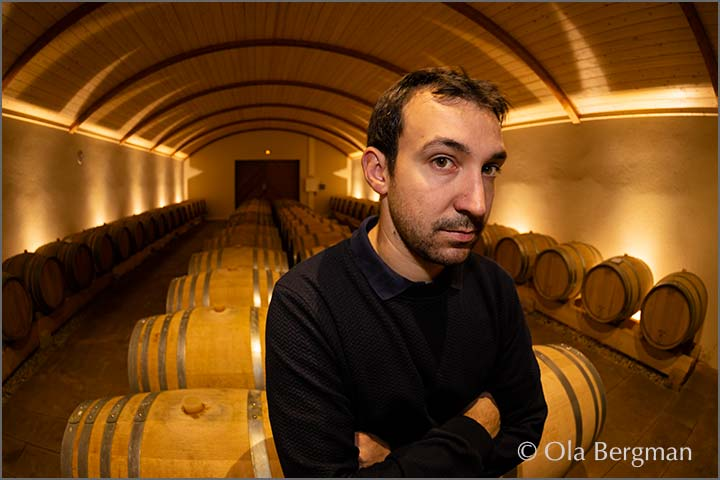 Damien Martin at Domaine de la Denante in Davayé.