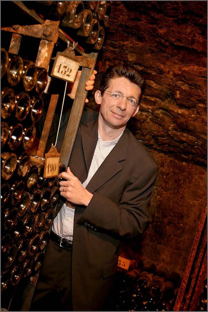 Stéphane Follin-Arbelet, general manager at Bouchard Père & Fils in Burgundy.