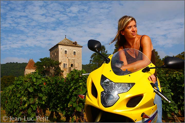 Alexandrine Roy at Domaine Marc Roy in Gevrey-Chambertin, Burgundy.