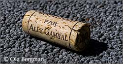 Cork from Alex Gambal in Beaune, Burgundy.